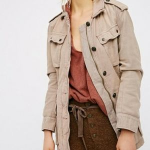Free People. 'Not your brothers Utility Jacket'